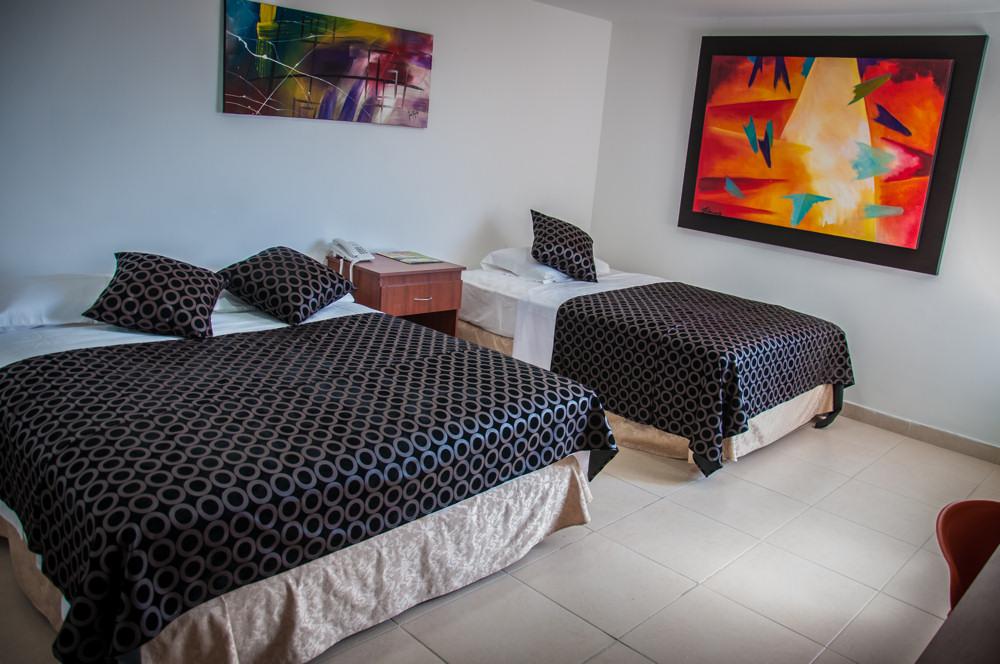 Habitación-doble-Hosteria-Los-Dujos-Neiva-Huila
